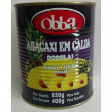Abacaxi Rodelas Obba 400g